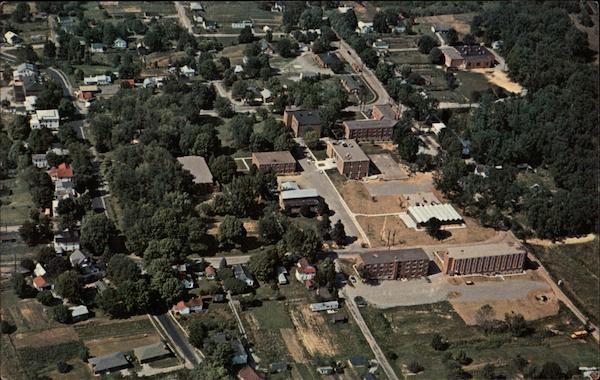 Aerial View of Rio Grande College Campus Ohio