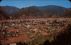Aerial View of Osburn