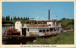 "Riverboat ""Discovery"" Postcard"
