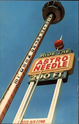 The Astro Needle - The Most Exciting Ride