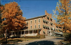 Middlebury Inn Postcard