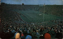 Kick-off, University of Michigan Stadium