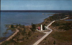 Tawas Point Light House Postcard