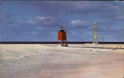 Charlevoix Lighthouse and Piers