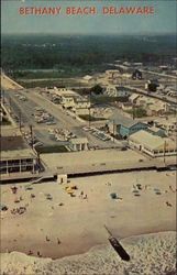 Aerial view of Bethany Beach