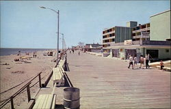 Boardwalk and Beach