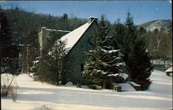 Helen Hughes Memorial Chapel in Winter