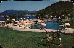 View of Private La Concha Beach Club Postcard