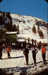 Summit of Berthoud Pass and the Twin Chair Ski Lift