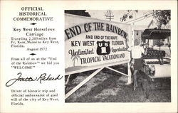 Official Historical Commemorative - Key West Horseless Carriage