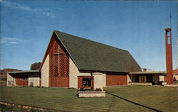 Trinity Lutheran Church, Lake Road Postcard