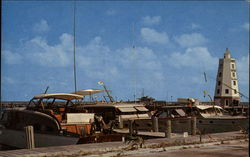 Fishing boats at the Davis Docks on the famous Florida Keys