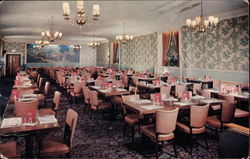 Dining Room of Clark's Restaurant