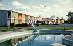 Country Manor Motor Inn Postcard