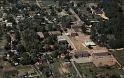 Aerial View of Rio Grande College Campus Postcard