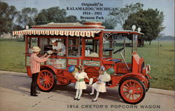 1914 Cretor's Popcorn Wagon - The Museum of Automobiles, Petit Jean Mountain