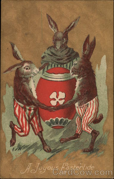 A Joyous Eastertide With Bunnies