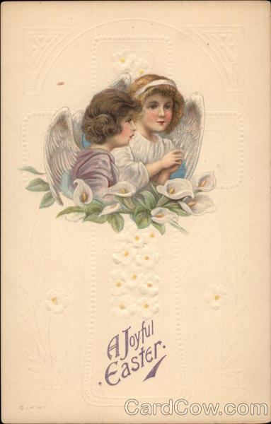 A Joyful Easter With Angels