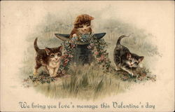 We Bring You Love's Message This Valentine's Day - Kittens
