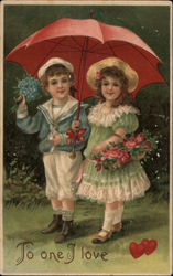 To One I Love - Boy and Girl with Umbrella