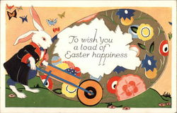 To wish you a load of Easter happiness