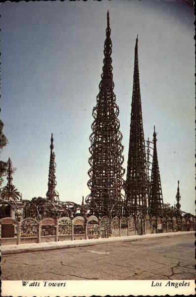 Watts Towers Los Angeles California