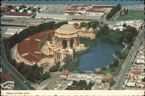 The Palace of Fine Arts San Francisco California