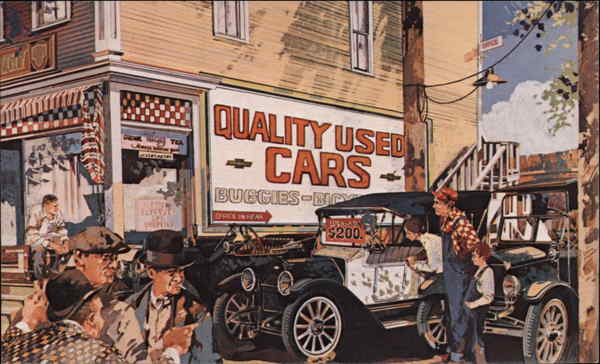 1913 Baby Grand - Chevrolet Cars