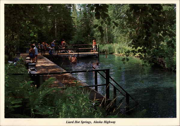 Liard Hot Springs Muncho Lake Canada Earl L. Brown