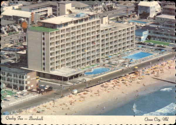 Quality Inn - Boardwalk Ocean City Maryland