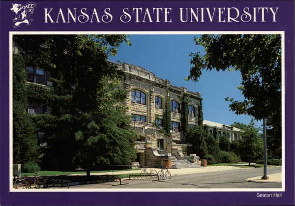 Kansas State University - Seaton Hall Manhattan John Avery