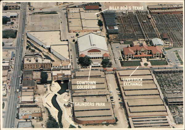 Aerial View of Fort Worth Texas W.D. Smith Commercial Photography