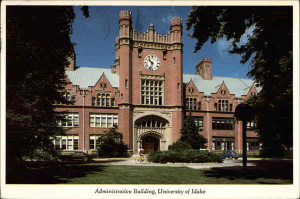 Administration Building, University of Idaho Moscow