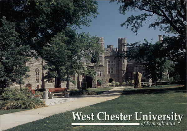 West chester university philips memorial building pennsylvania