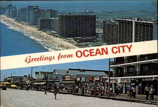 Scenes from Ocean City Maryland