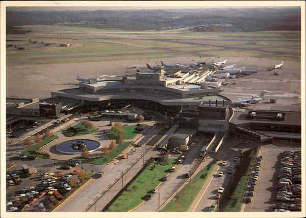 Pittsburgh Airport Hotels Map