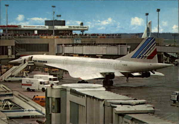 Concorde at Frankfurt Airport Germany Airports
