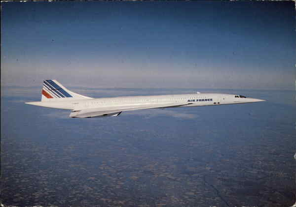 Air France - Concorde Aircraft