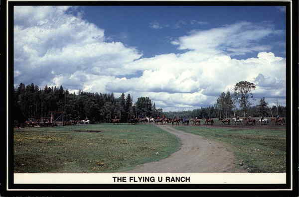The Flying U Ranch Canada British Columbia
