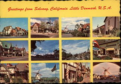 "Various Views of Town - "" Liitle Denmark """
