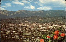 Aerial View of Santa Barbara