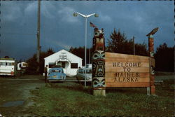Welcome to Haines Alaska Postcard