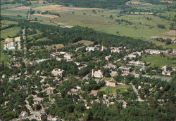 Aerial View of Middlebury College