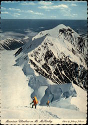 Mountain Climbers on Mt. McKinley Postcard