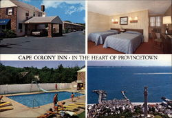 The Colony Inn - In the Heart of Provincetown Postcard