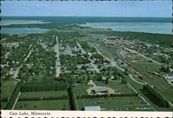 Aerial View of Cass Lake
