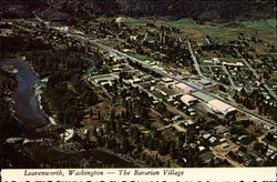 Aerial View of The Bavarian Village