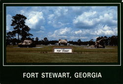 Entrance to Fort Stewart