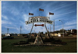 Entering Alaska Highway