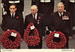 Remembrance Day, Lest We Forget